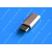 China Gray Camera Type C Micro USB , SATA Sync Charge OTG Micro USB 23mm x 10mm x 5mm wholesale