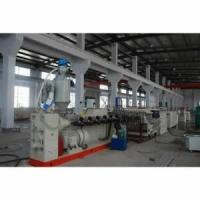 China WPC Foamed Board Double Screw Extruder Full Automatic For Construction wholesale