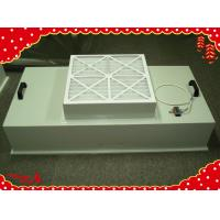 China Fan filter unit paper frame primary efficiency disposable panel air filters wholesale