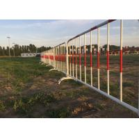 Buy cheap Crowd Control Barriers 2.0m Length Event Fence Galvanized Tube from wholesalers