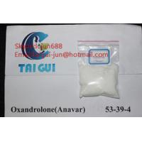 Quality Safely White Powder Sex Drugs Oral Anabolic Steroid Hormones Oxandrolone Anavar 53-39-4 With USP30 for sale