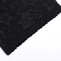 black Waist Shapers Hook And Eye Button detial 2