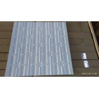 Buy cheap Punched Aluminum / Steel Metal Stamping Panel Metal Perforated sheet metal from wholesalers