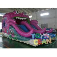 China Jumper Pink Sea Theme Inflatable Jumping Castles For Party Rental wholesale
