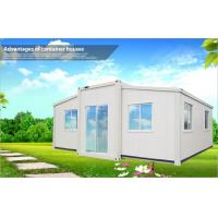 White Portable Foldable Container Homes For Villa Houses