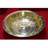 Buy cheap BRASS BASIN , NON SPARKING COPPER DISH WASH baisn 130mm from wholesalers