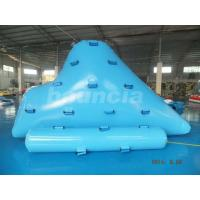 China Durable Inflatable Floating Iceberg For Climbing , Kids Inflatable Climbing Mountain wholesale