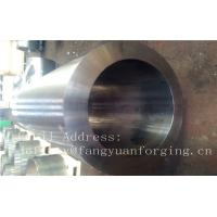Quality F316H S31609 Stainless Steel Forging Forged Cylinder  Seamless Pipe  Flange for sale