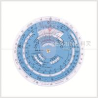 China Plastic Aviation Circular Flight Computer Navigation Calculator Wheel Chart wholesale