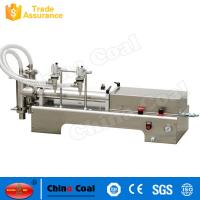 China High Quality And Hot Sales Double Heads Piston Liquid Filling Machine wholesale