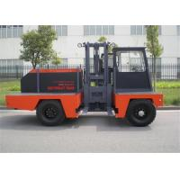 China Construction Side Loader Forklift 10 Ton With Double Rear Tyre Isuzu Engine wholesale