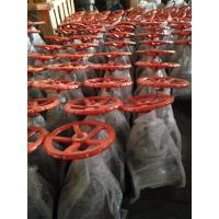 China API 6D, 150LB KITZ Brand Carbon Steel  Flanged Globe Valve With Orange Handwheel wholesale