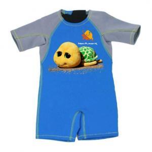 China Kid Jumpsuit Baby Wetsuit Bathing Suit 2mm Thermal Neoprene Swimwear with Tortoise wholesale