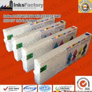 China Eco-UV Curable Ink Cartridges for Roland Lec-540UV/Lec-300UV wholesale