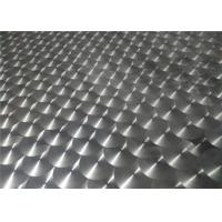 China Coated Aluminum Embossed Sheet Thickness 0.1 - 20mm Aluminium Tread Plate wholesale