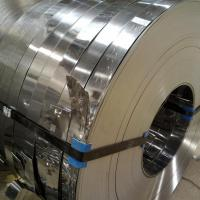 China 201 / 304 / 316L / 202 Stainless Steel Slit Coil Rolled ASTM A537 , ASTM A302 Standard Coil and Slit Strips wholesale
