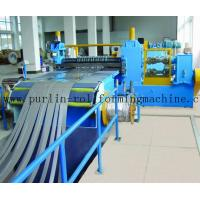 China Automatic Control Metal Slitting Machine Durable Carbon Steel / Galvanized Coils wholesale
