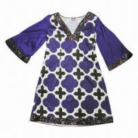 Buy cheap Printed LS Dress from wholesalers
