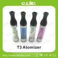 China Popular Ecigaretor T3 Atomizer 510 Thread Screw suit Ego Twist wholesale