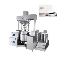 China Emulsifier Homogenizer	Steam Heating 0.75KW 150L Vacuum Mixer Homogenizer For Paste wholesale