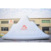 China Giant Inflatable Floating Iceberg , Water Climbing Wall For Ocean wholesale