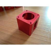 China High-precision Red Color Anodized CNC Machining Aluminum Industrial Parts wholesale