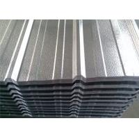 China Aluminum 3003 / 1100 Industrial Corrugated Roofing Sheets For Construction wholesale