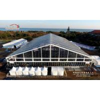 China 5000 Peope Giant Clear Span Tent 50 by 70 Meter with Transparent PVC Roof Cover wholesale