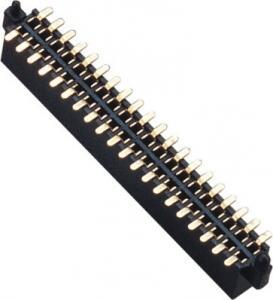 China WCON Female 1.27 Mm Pin Header Dual Row SMT Pin Header 1.0AMP wholesale