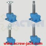 China machine leveling screw jacks, electric machine screw actuator, machine screw actuator price wholesale
