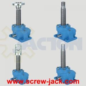 China mechanical screw jack, mechanical lowering jack, mechanical lift wholesale