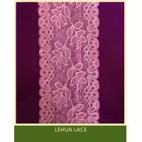 Hot Selling and nice quality Nylon Spandex Stretchy Brazil Lace from China
