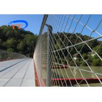 China Wire Rope Flexible Stainless Steel Mesh Anti Falling Net 1*7 Specification on sale