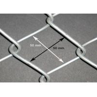 China Zinc Coating Flat Surface Chain Wire Fencing  Galvanized Diamond For Garden Security wholesale