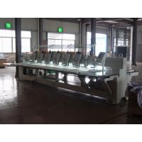 China High Speed 9 Needles 6 Head Embroidery Machine For Wedding Dress wholesale