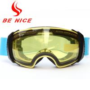 China Anti Fog Detachable Ski Snowboard Goggles , Tinted Ski Goggles For Sports wholesale