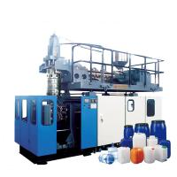 China Chemical Jerrycan Extrusion Blow Molding Machine With Single - Station wholesale