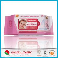 China Newborns Unscented Alcohol Free Baby Wipes Chemical Free Non Woven wholesale