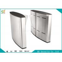 China Electric Indoor Wing Flap Barrier Gate Turnstile Subway Or Metro Access wholesale
