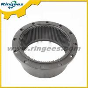 Hitachi EX70 excavator swing device ring gear, gear ring for swing motor