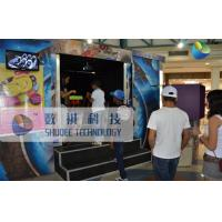 China Mobile 6D Movie Theater , 6D Motion Simulators Experience With Fire Effects wholesale