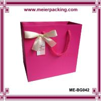 China Wedding favor gift paper bags/Printed paper box with ribbon bow ME-BG042 wholesale