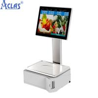 China ARM-based Touch Scale With Best Price,Retail POS scale,Fiscal Cash Register wholesale
