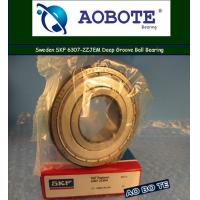 China SKF 6307-2ZJEM Deep Groove Ball Bearing With Single Row ABEC 5 wholesale