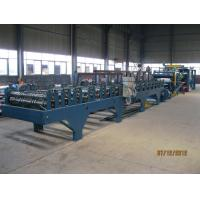 China Insulation Sandwich Panel Roll Forming Machine 28KW 3-7m/min wholesale