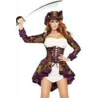 Quality Exotic Marauder Womens Sexy Costumes  Indian Fancy Dress Pirate for sale