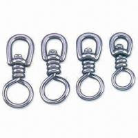 China Fishing Swivel, Available in Brass, Black and Nickle Plating, Various Sizes are Available wholesale