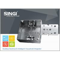 Buy cheap Canadian UL hollow out rust - proofing metal outlet box / electrical wiring boxes from wholesalers