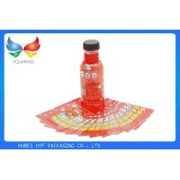 China Eco Friendly Juice Drink Bottle Labels PETG Shrink Wrap Sleeve No Benzene , 40 Mic wholesale