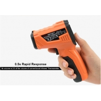 China Digital Thermometer Smart Sensor Infrared Thermometer laser with LCD for industrial and domestic use wholesale